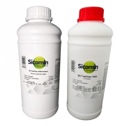 Résine SR Top Clear 1056 Incolore 1 Kg + Durcisseur SD Top Clear 1533 0,66 Kg