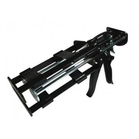 Pistolet bi-composant pour cartouche multiratio