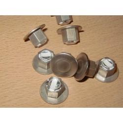 Boîte de 10 inserts M6 inox diamètre 6 - longueur 6 mm