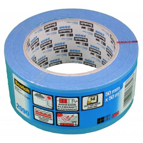 Adhésif 3M Bleu 50m x 50mm (longue durée)