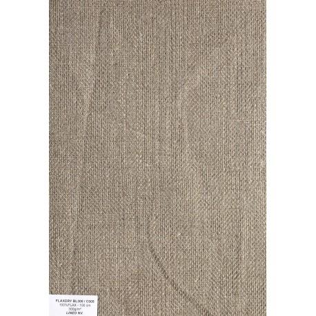 Tissus de lin Sergé 2/2 315 g/m² en 100 cm de large