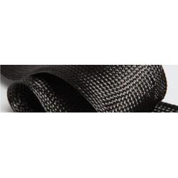 Tresse plate 30° Carbone