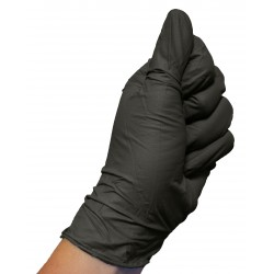 Black nitrile gloves (box of 60)
