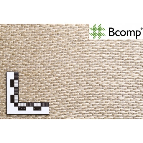 Bcomp ampliTex tissu de lin biaxial 0°/90° 200 g/m2 5031