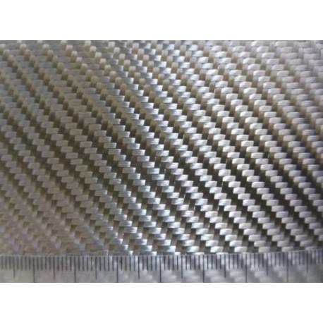 ALUTEX V290 T Verre Aluminisé Sergé 290 g/m² en 100 cm de large