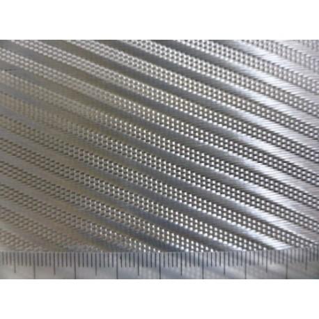 ALUTEX V620 Verre Aluminisé Diagonal 295 g/m² en 127 cm de large