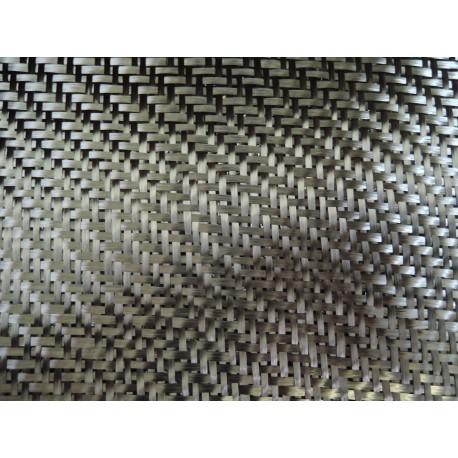 Tissus de carbone HR 3 K Taffetas 200 g/m² en 125 cm de large