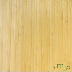Bambou Placage Vertical Naturel Epaisseur 0,6mm 2500x430mm