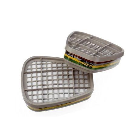 Filtre antigaz et vapeurs ABEK1 3M™ 6059