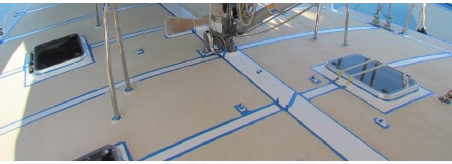 DECKLINE antiskid paint system