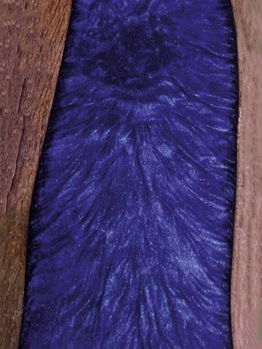 Table rivière violet