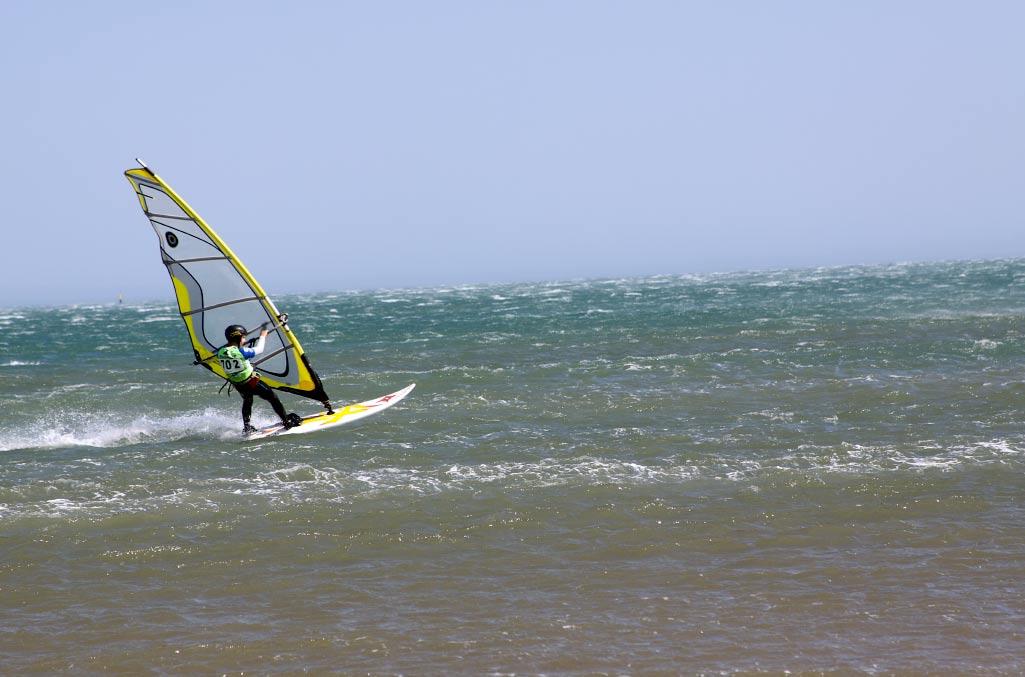 Réparation d'une délamination - Windsurf
