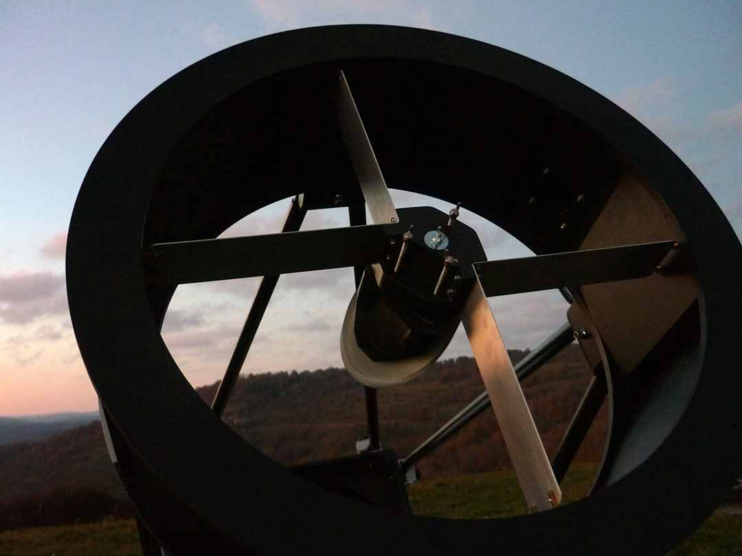 Fabrication artisanale d'un télescope